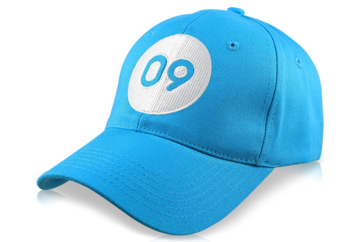 casquette flyer bleue