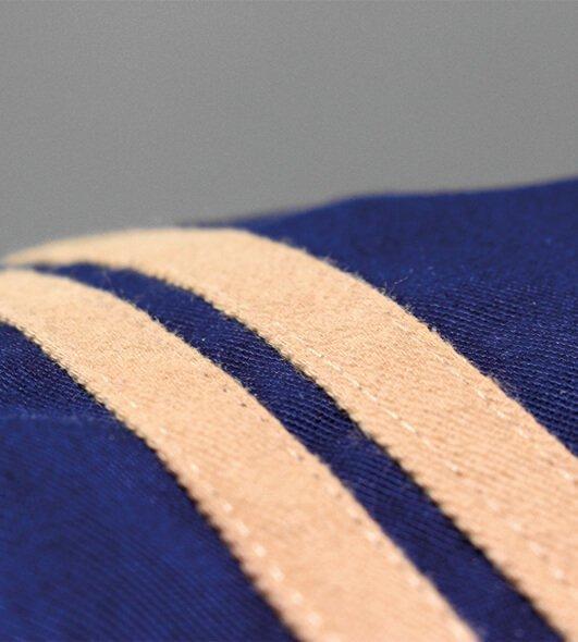 bandes tissus appliquées
