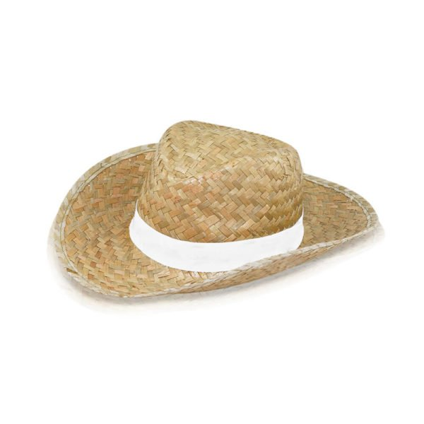 chapeau de paille personnalisable